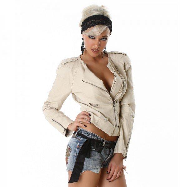 vestes femme blouson cuir veste cuir trench femme holidays oo. Black Bedroom Furniture Sets. Home Design Ideas